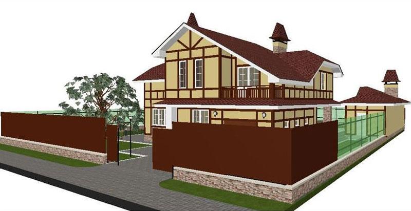Бесплатный типовой проект дома из газобетона